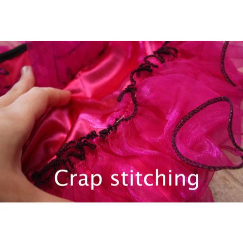 Poor Stitching