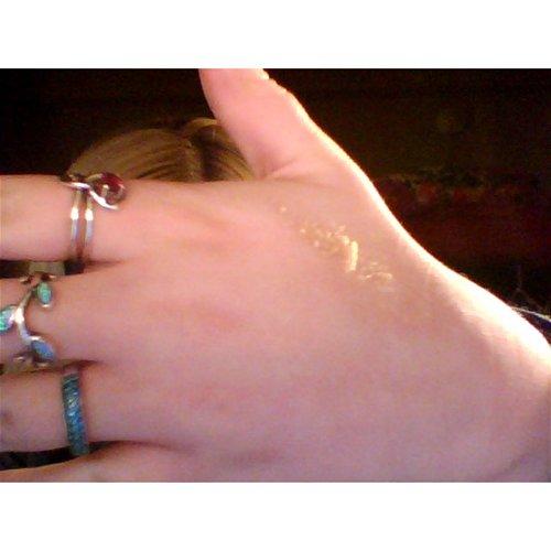 Exfoliate hand