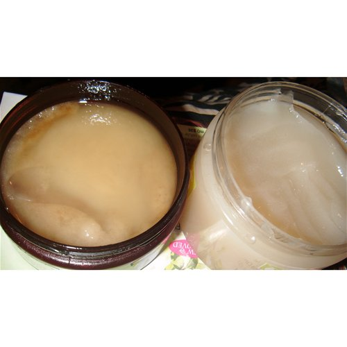 Body Polish and body scrubs I normally use