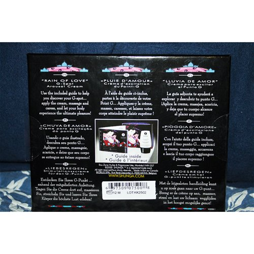 Back of package