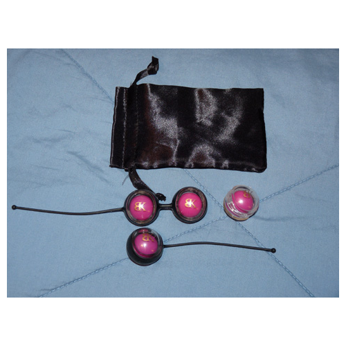 Holders, balls, pouch