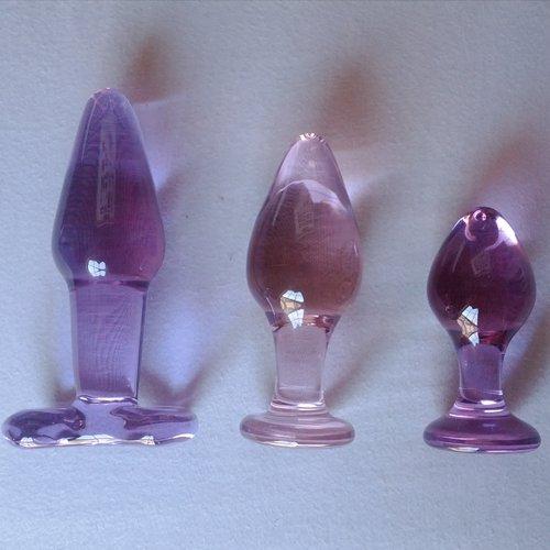 Pink Ripple between Royal Ripple and Violet Moon Plug