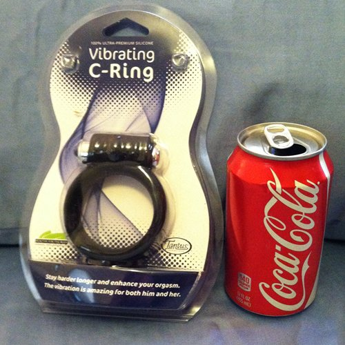 Packaging with can of coke