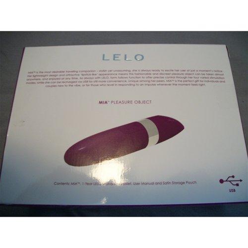 Lelo Mia outer box back