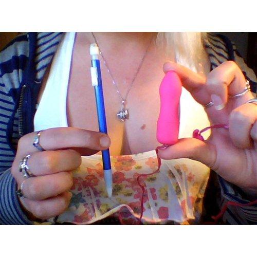 Engagement Ring Bullet VS Pen