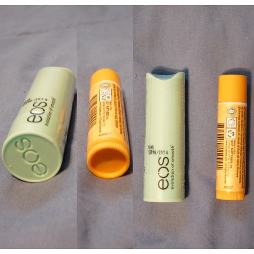 Compared to Burt's Bees tube
