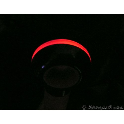 Red LED accented handle