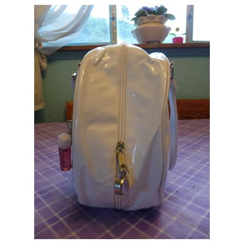 Side of bag w/lock