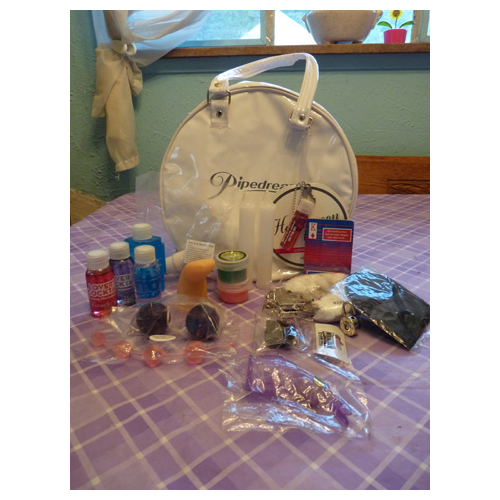 Bag with included items