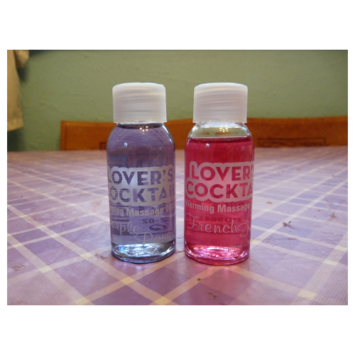 Lover's Cocktail Warming Massage Oils
