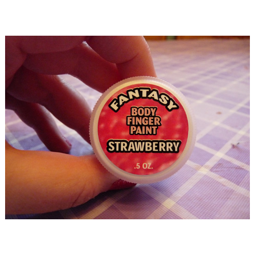 Body Finger Paint - Strawberry