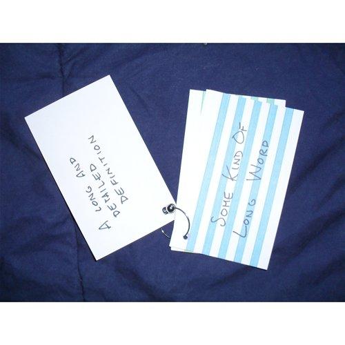 Notecard Ring