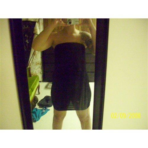 As a dress
