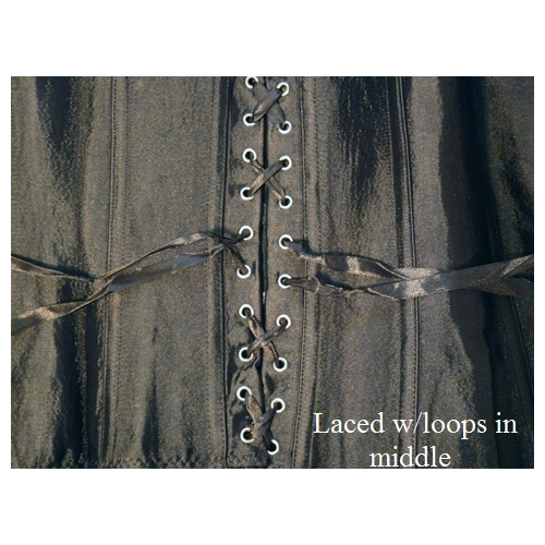 Middle lacing loops