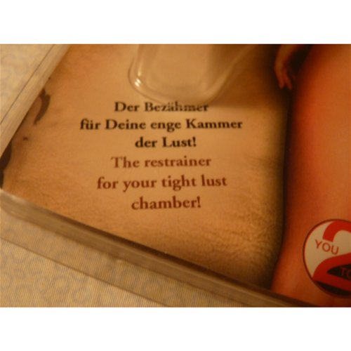 The Restrainer for Your Tight Lust Chamber!