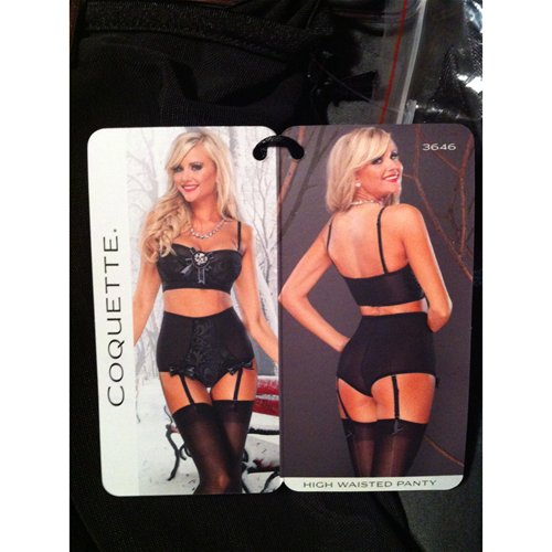 Coquette High Rise Panty Tag