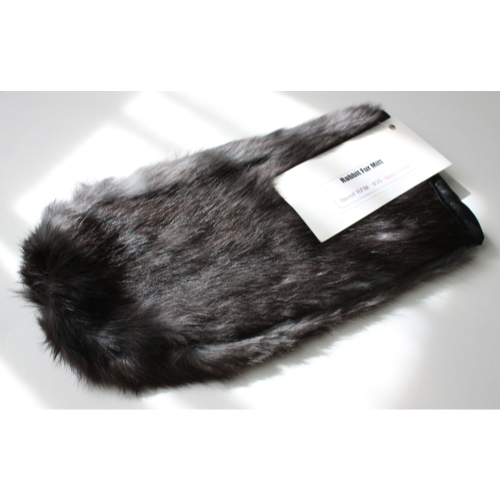 Rabbit Fur Mitt
