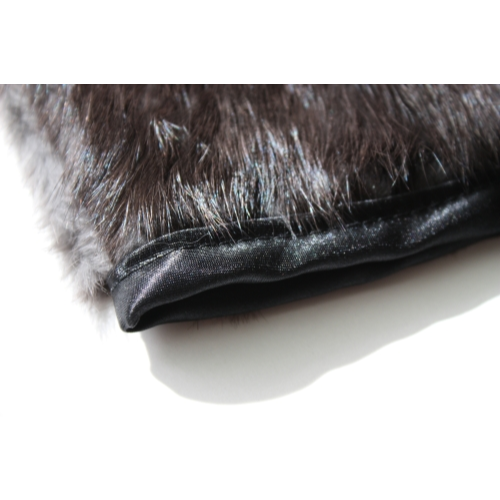 Rabbit Fur Mitt - trim