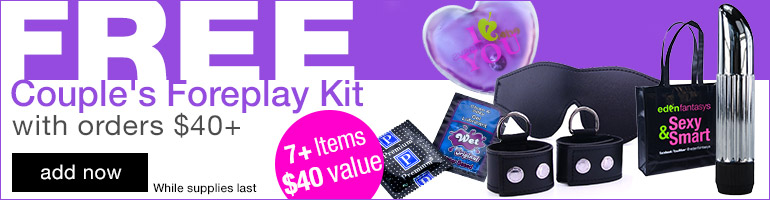 FREE Couple's Love Kit with Orders $40+
