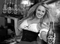 Have a beer-St. Pauli Girl