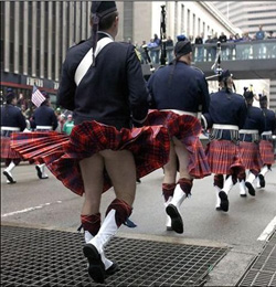 Kilts and bums