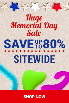 Save 80% - Huge Memorial Day Sale