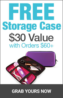 Get Free Storage Case With Orders $60+