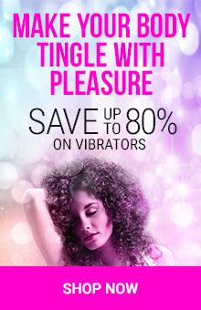 Save Up To 80% on Vibrators