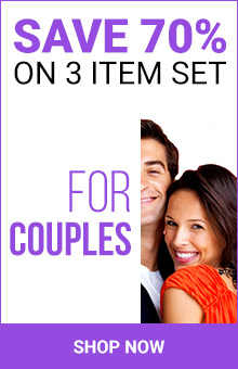 Save 70% On 3 Item Set For Couples