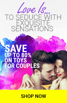 Save Up To 80% On Toys For Couples, Vibes & More