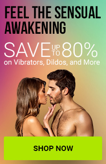 Save Up To 80% On Vibrators, Dildos & More