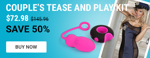 Couple's tease and play kit