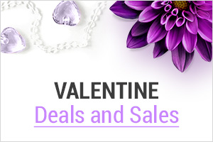 Valentine Deals and Sales