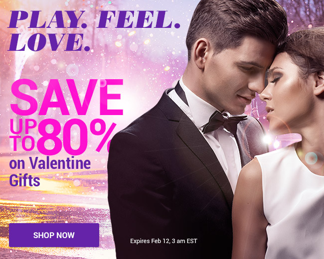Play. Feel. Love - Gifts for Valentine