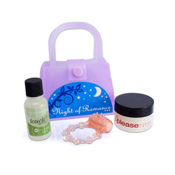 Sensual bath, Sensual kit - Night of romance kit