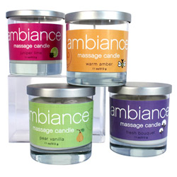 Ambiance massage candle (Fresh bouquet)