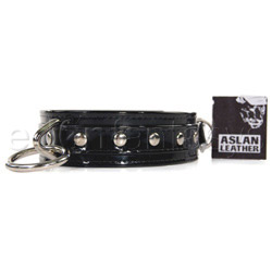 Bdsm collar - Black cat collar