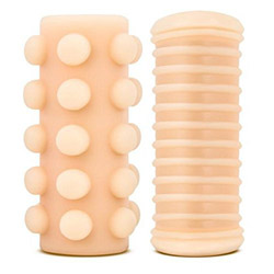 Penis sleeve - Double stroke reversible