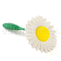 Massager - Flower power (White / Yellow)