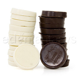 Edible treats - Strip chocolate checkers refill