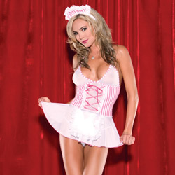 Costume - Candy striper babydoll