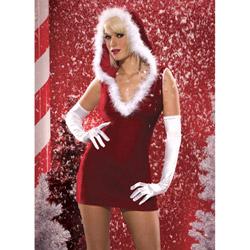 Costume - Santa Baby velvet dress (L)