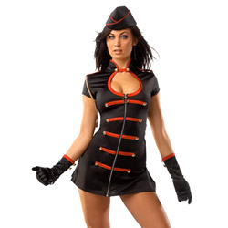 Costume - Darque military girl (ML)