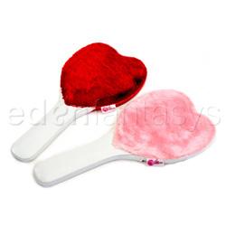 Paddle - Heart paddle (White / Pink)