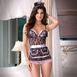 Costume - Naughty in Paris lace babydoll (L)