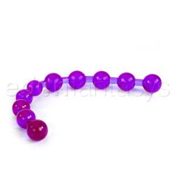 Anal Bead - Purple anal jelly beads