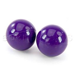 Vaginal exerciser - Ben-wa balls (Purple)