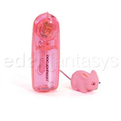 Massager - Mini mini rabbit (Pink)