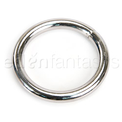 Multipurpose Ring - Plated chrome ring (1 1/2