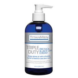 Lubricant - Titanmen triple duty cream